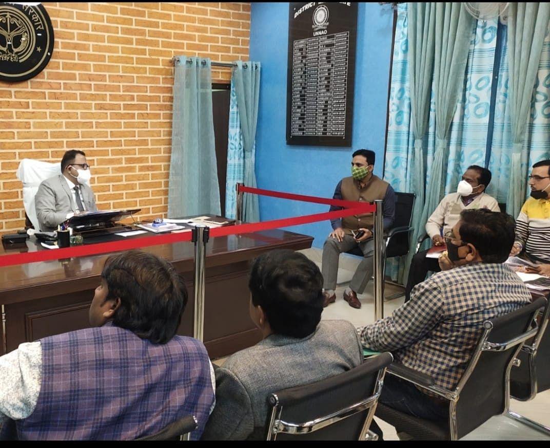 गंगा एक्सप्रेसवे परियोजना समिति की बैठक