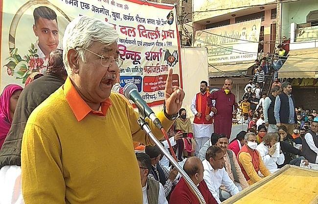 रिंकू शर्मा को देशभर में 2500 स्थानों पर दी गई श्रद्धांजलि