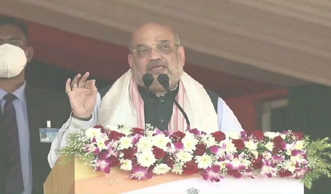 असम समेत पूर्वोत्तर को भारत की जीडीपी में सबसे अधिक योगदान देने वाला क्षेत्र बनाएंगे: शाह