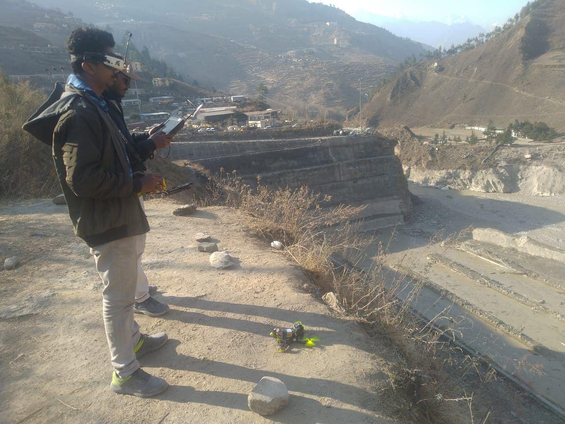उत्तराखंड आपदा में कारगर साबित हुआ कानपुर आईआईटी का ड्रोन