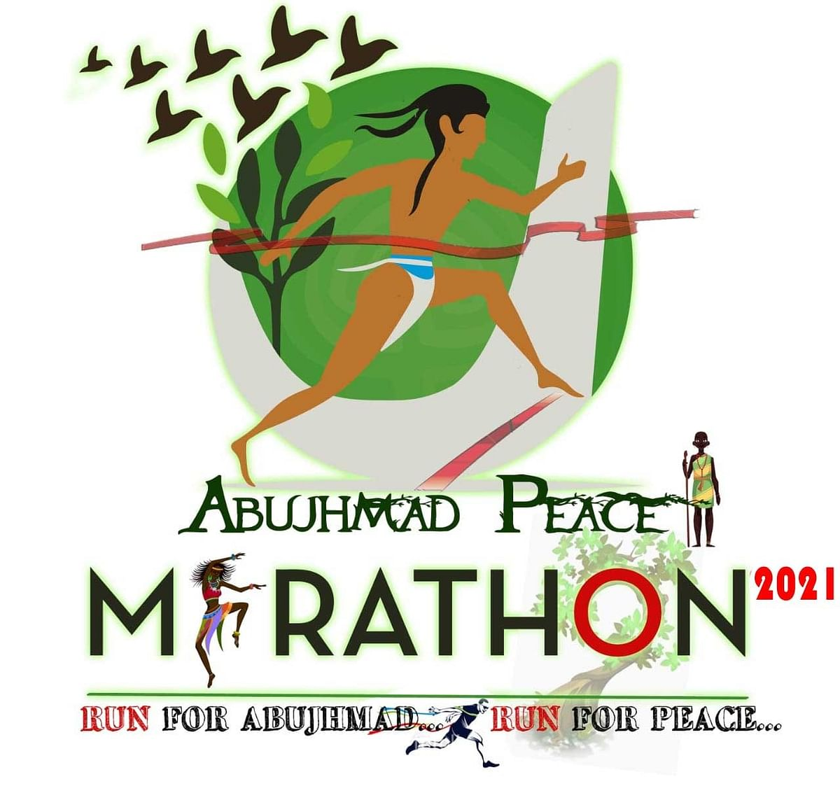 raipur-abujhmad-peace-half-marathon-2021-more-than-seven-thousand-participants-registered