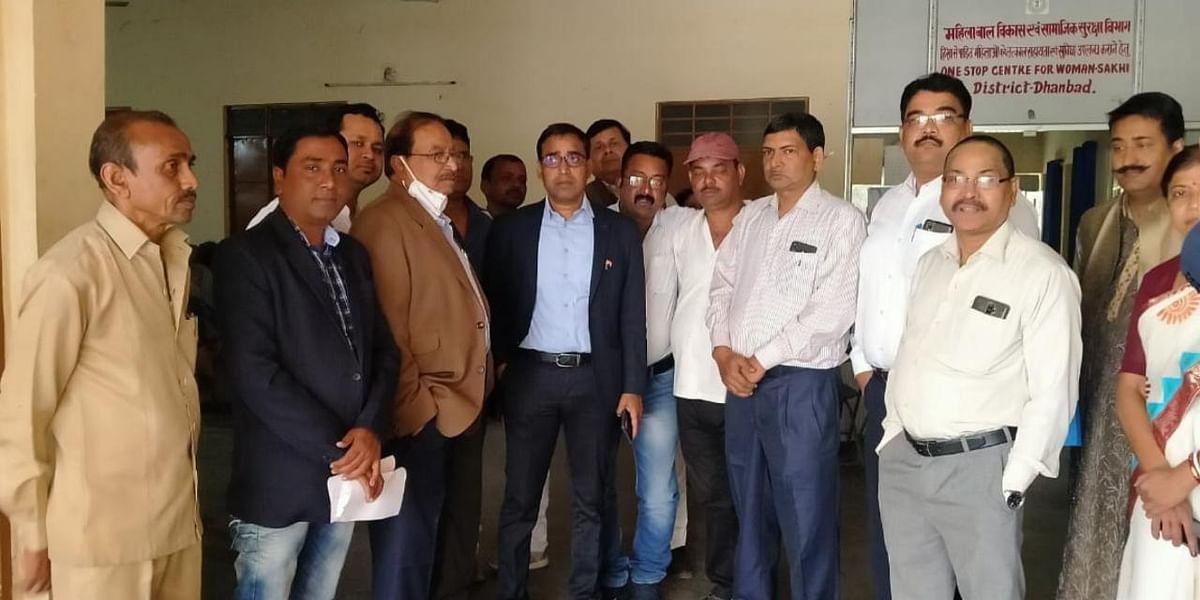 एसडीओ ने किया भारतीय रेडक्रॉस समिति में वाहय विभाग का शुभारंभ