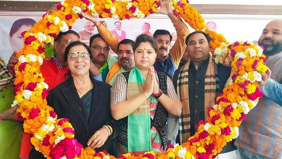 कन्नौज: भाजपा महामंत्री प्रियंका रावत ने सिखाये बूथ जीतने के गुर