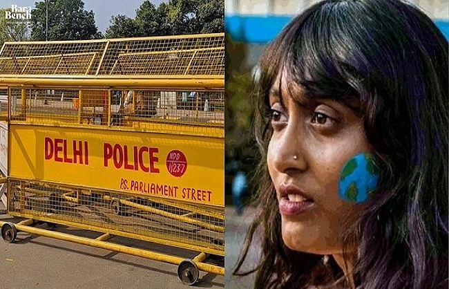 दिशा रवि की पुलिस हिरासत तीन दिनों के लिए बढ़ी