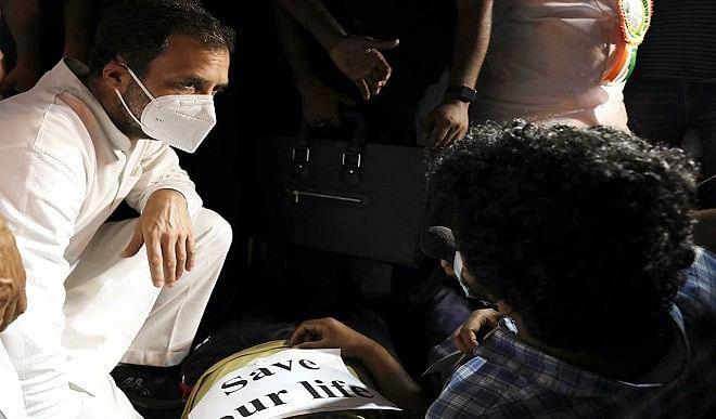 दक्षिण में राजनीति चमकाने की कोशिश में दिशाओं में उलझे राहुल, उत्तर भारतीयों के अपमान का लगा आरोप