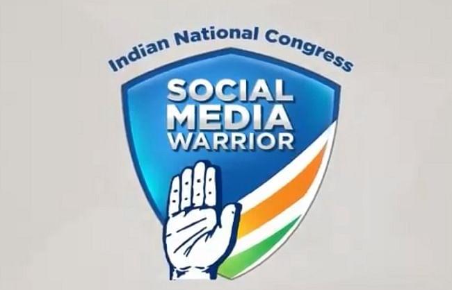 कांग्रेस ने लॉन्च किया सोशल मीडिया 'वॉरियर्स' कैम्पेन, 5 लाख सदस्य जोड़ने का लक्ष्य