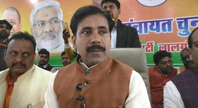 सुहेलदेव के नाम पर वोट मांगने वाले सालार मसूद के रिश्तेदार से कर रहे गठबंधन : अनिल राजभर