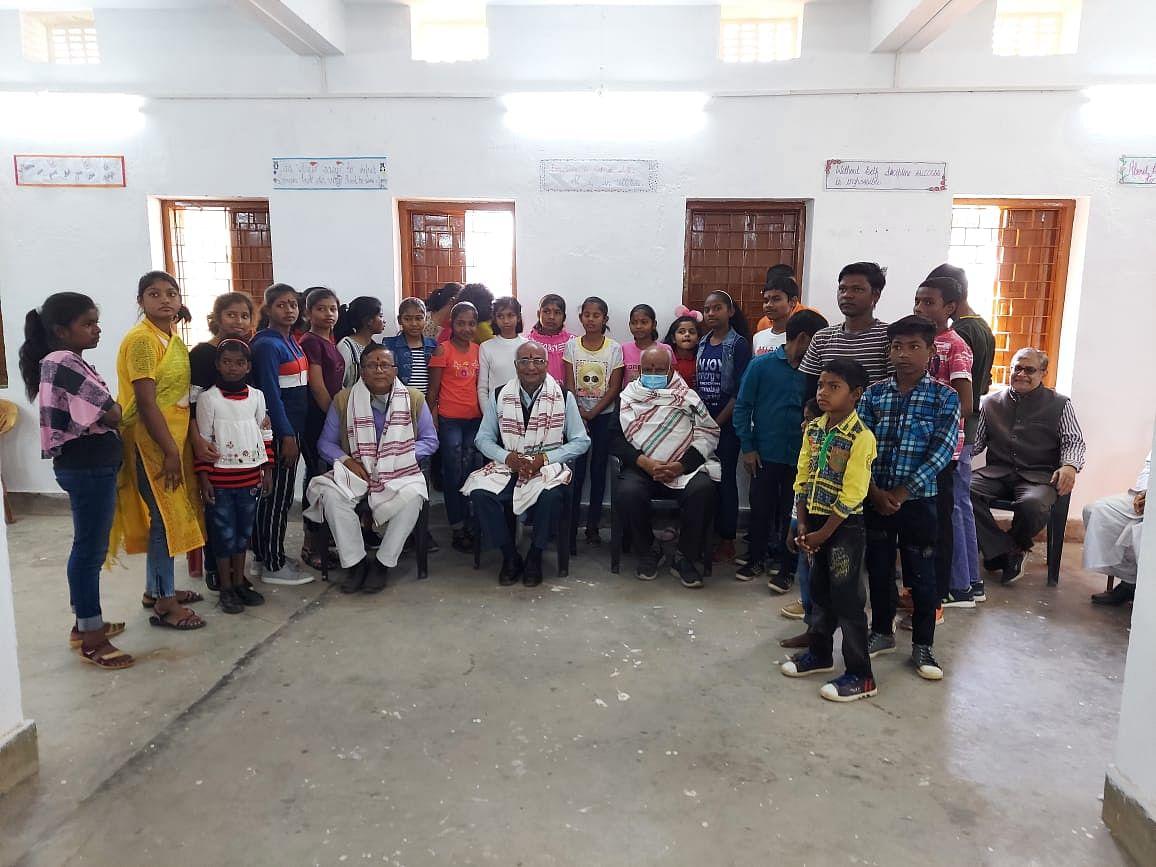 पेस्टोलोजी विलेज चिल्ड्रेन एजुकेशन सोसाइटी के बच्चों को  एचइसी परिसर में मिलेगा आवास