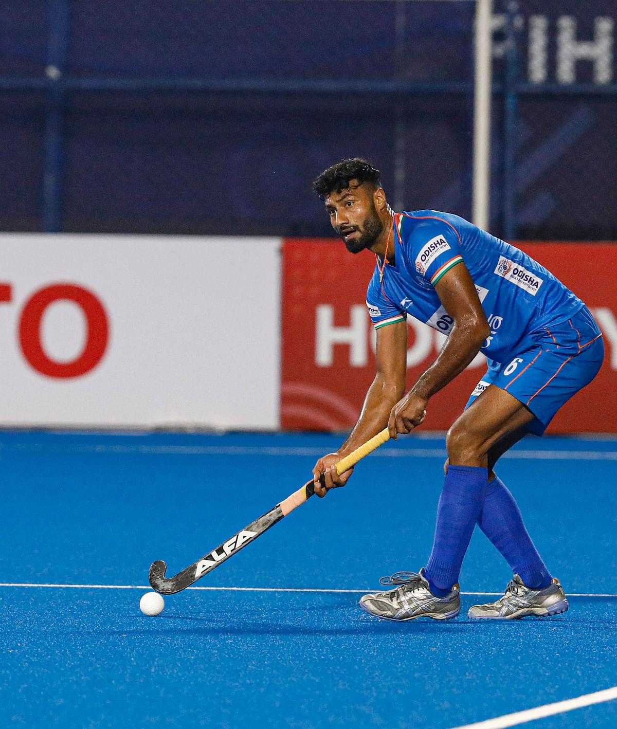 मजबूत रक्षा पंक्ति लगातार मैच जीतने के हमारे अवसरों की कुंजी होगी : सुरेंद्र कुमार