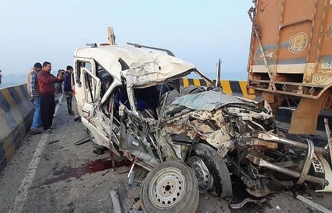 nine-died-in-two-separate-road-accidents-in-bihar