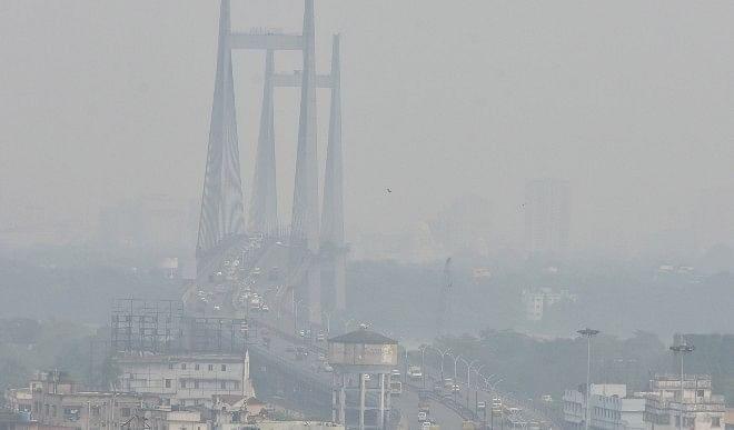 रविवार सुबह भी दिल्ली में छाई धुंध, तापमान 10.1 डिग्री सेल्सियस पर स्थिर