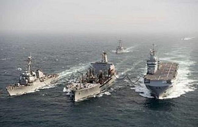 फ्रांस ने भी दक्षिण चीन सागर में भेजे अपने युद्धपोत