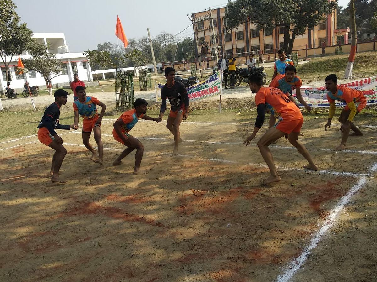 राजस्थान कबड्डी बैश के लिये ट्रॉयल संपन्न
