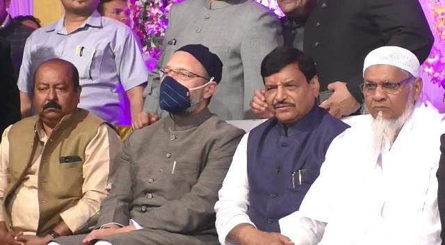 शिवपाल यादव ने एआईएमआईएम से दिये गठबंधन के संकेत, शादी समारोह में दोनों नेताओं की हुई चर्चा