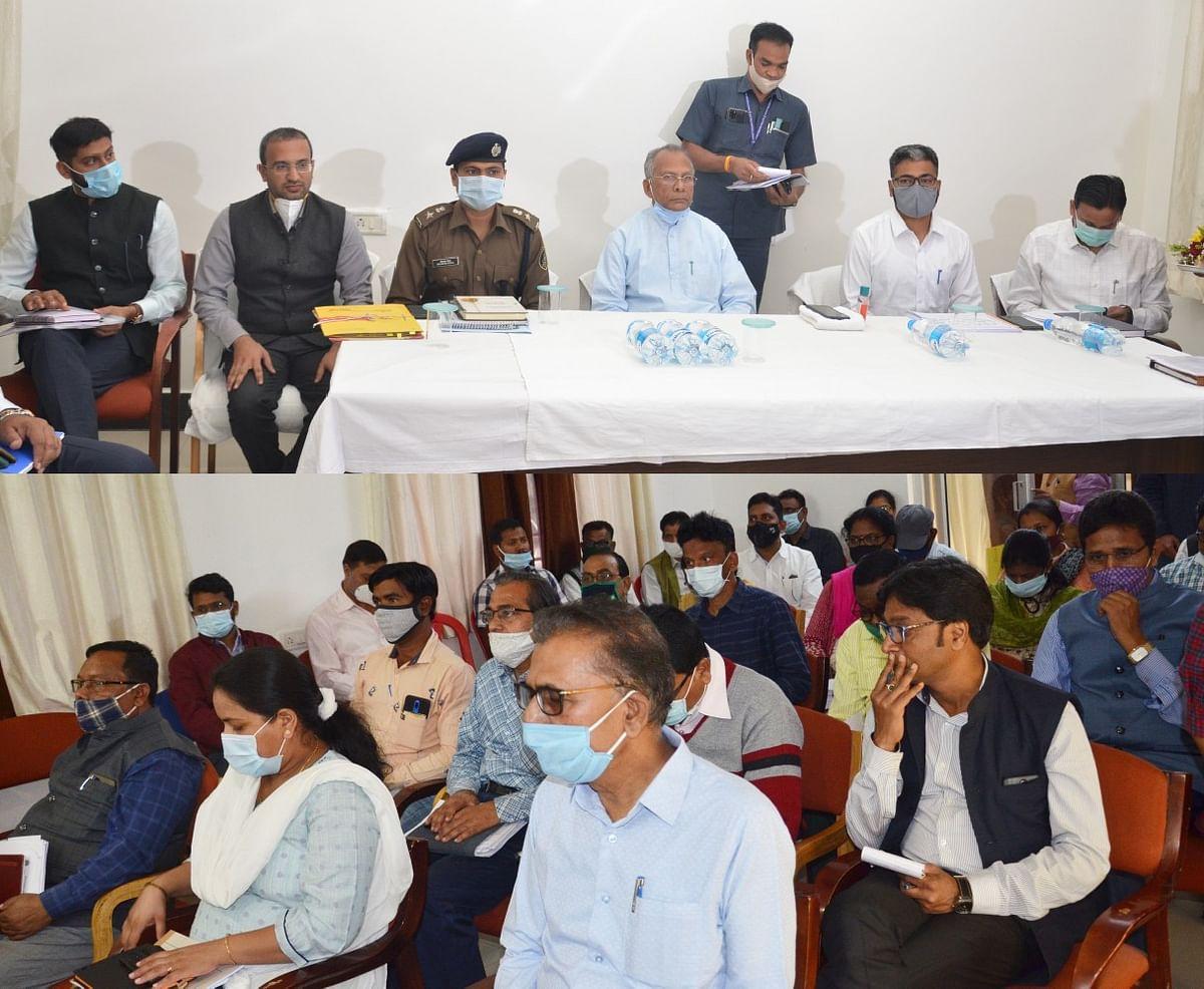 रायपुर : गौठानों को बहुद्देश्यीय कार्यस्थल के रूप में विकसित करें : गृह मंत्री