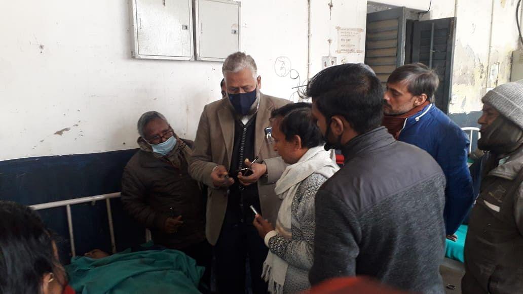 इंटर परीक्षा में तैनात शिक्षक की मौत, मचा कोहराम