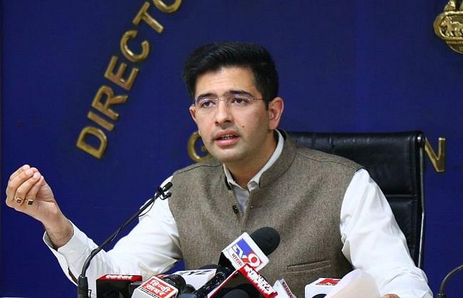 केंद्र ने व्यास का पानी रोका तो दिल्ली में घटेगी 25 प्रतिशत आपूर्ति: राघव चड्ढा