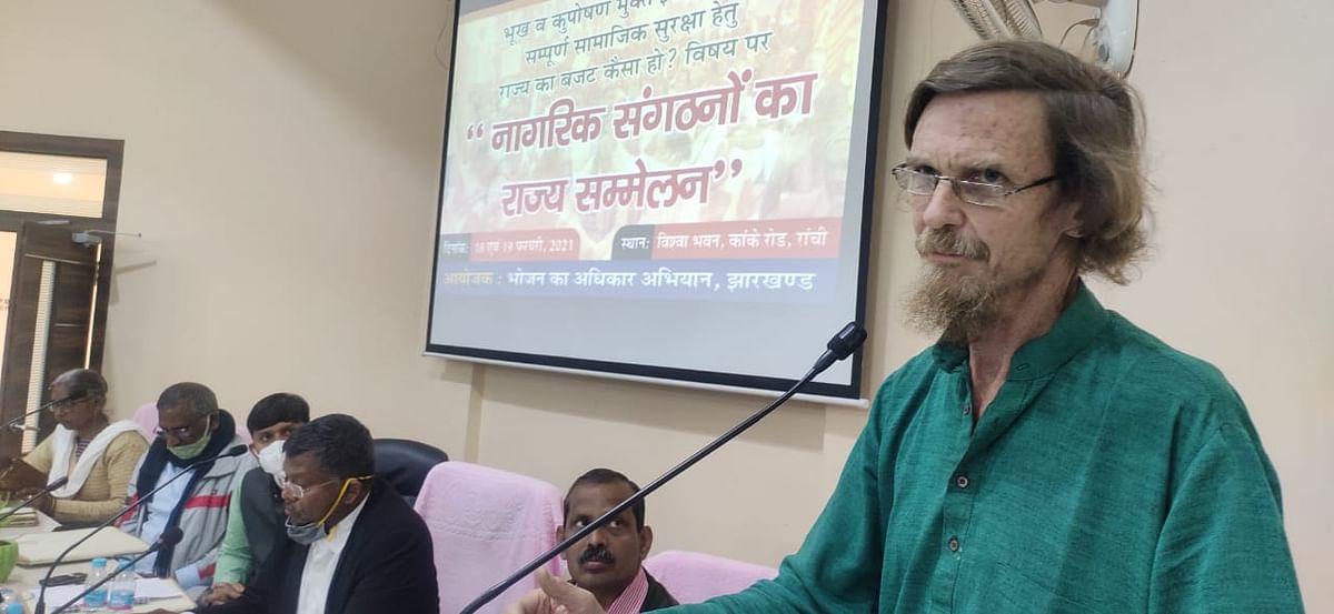 झारखंड बजट में सिविल सोसाइटी को प्रमुखता मिलनी चाहिए : बलराम