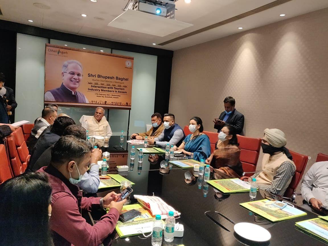 chhattisgarh-chief-minister-bhupesh-baghel-invited-assam39s-tourism-industry-to-invest-in-chhattisgarh