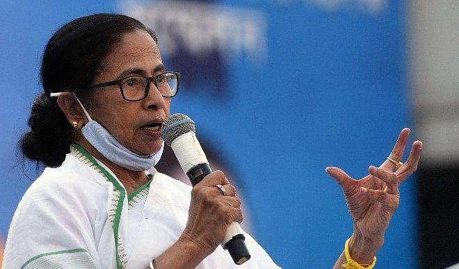 ममता-बनर्जी-की-पार्टी-तृणमूल-कांग्रेस-का-चुनावी-नारा-'बंगाल-को-चाहिए-अपनी-बेटी'