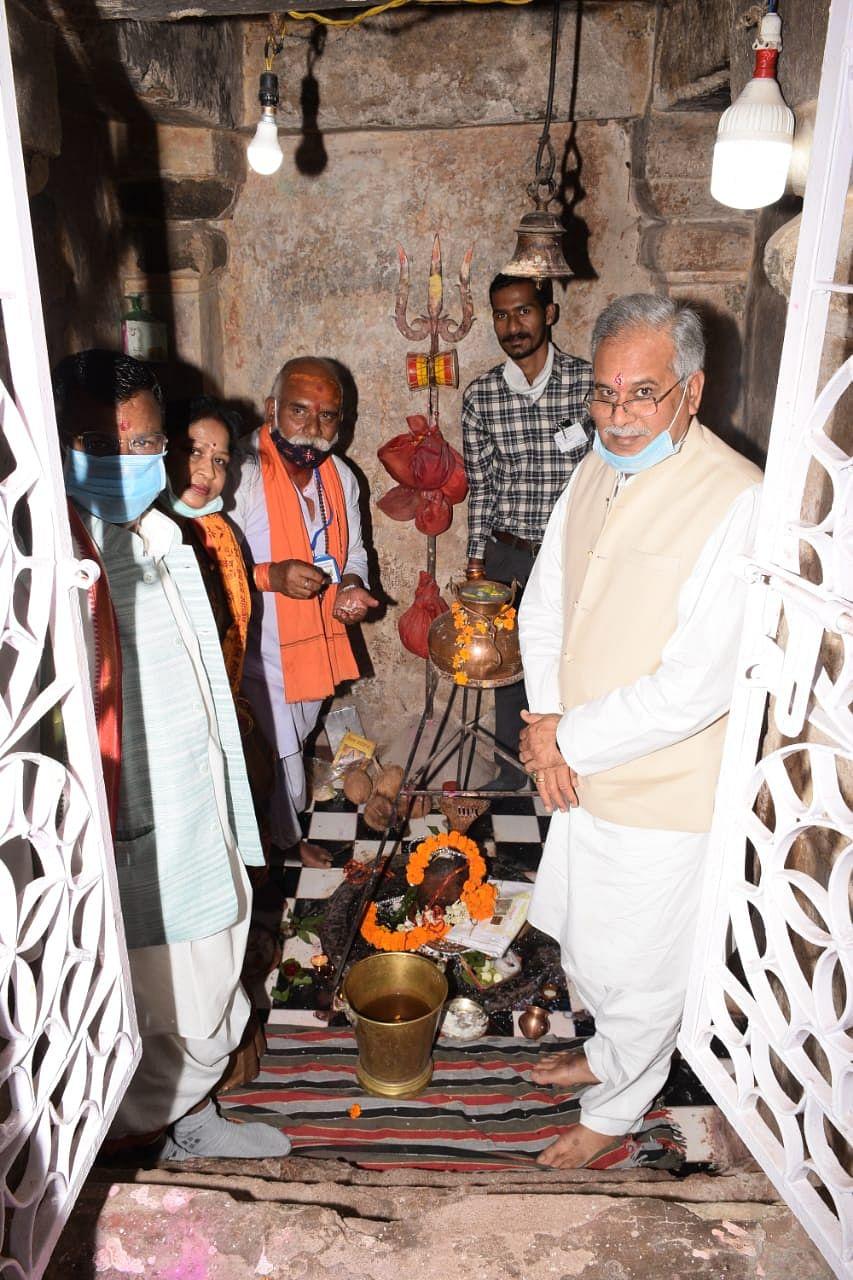 रायपुर : कर्णेश्वर धाम में मेला के लिए मिलेगा सामुदायिक वन अधिकार पत्र : मुख्यमंत्री