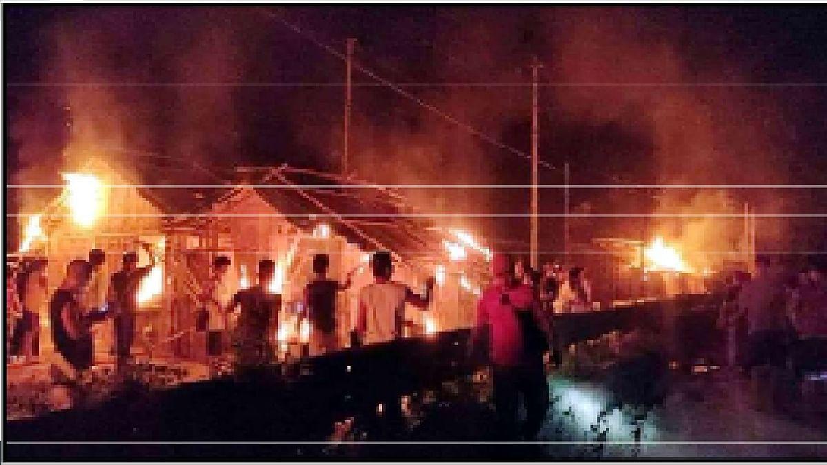 हैलाकांदी में असम-मिजोरम सीमा पर फिर तनावपूर्ण स्थिति