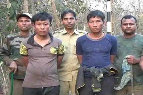 वन माफिया और वन सुरक्षाकर्मियों के बीच गोलीबारी, दो गिरफ्तार