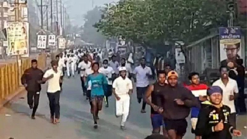 जगदलपुर : अबूझमाड़ मैराथन के लिए आयोजित हुआ प्रोत्साहन दौड