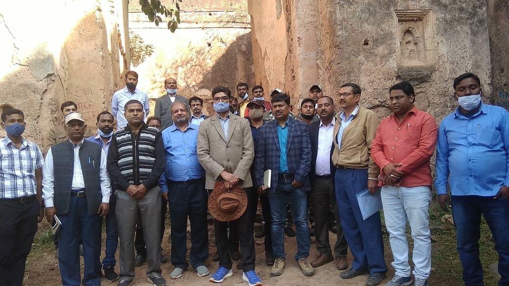 पलामू प्रमंडल के तीनों किलों का होगा जीर्णोद्धार: रामचंद्र सिंह