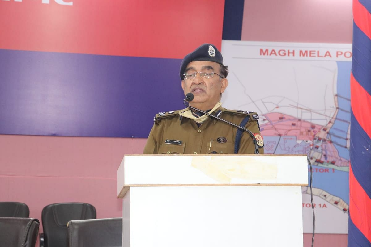 प्रयागराज पुलिस ने जनवरी माह में वसूला पांच करोड़ से अधिक रूपए