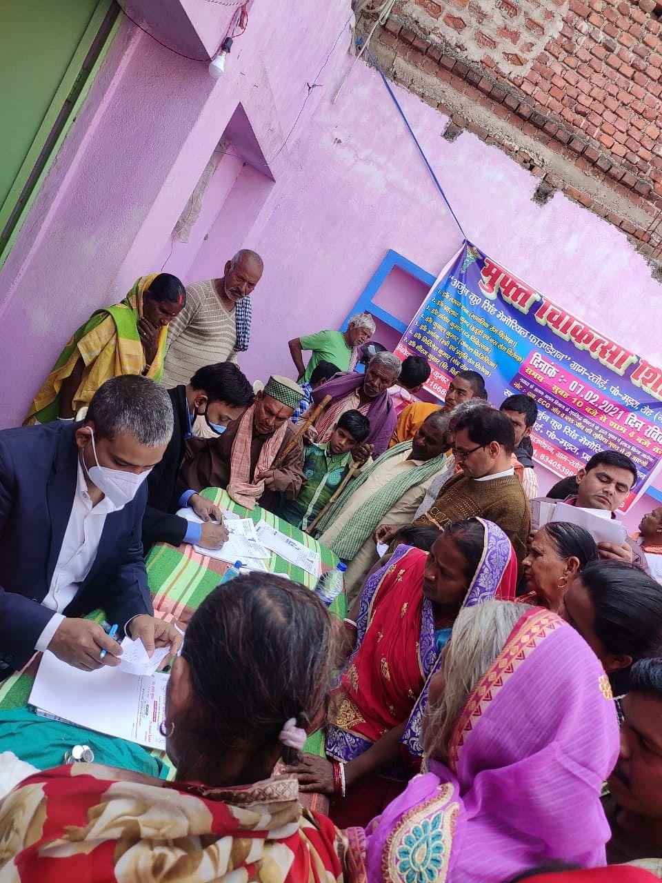 600 गरीबो का मुफ्त इलाज करा उन्हें मिली दवाएं: सुमन