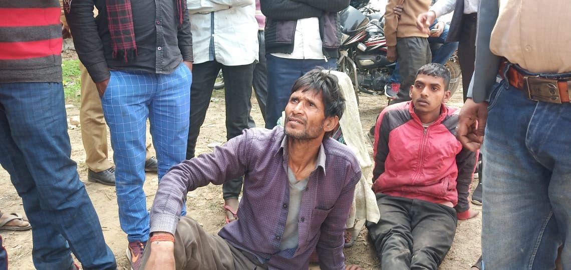सात दिनों से लापता ऑटो चालक का झाड़ियों में मिला शव, पुलिस पर लापरवाही का आरोप