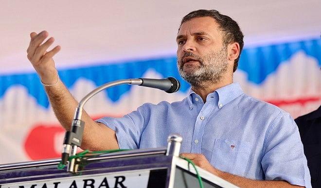 राहुल गांधी ने केरल में फूंका चुनावी बिगुल, भाजपा और वाम सरकार को आड़े हाथों लिया