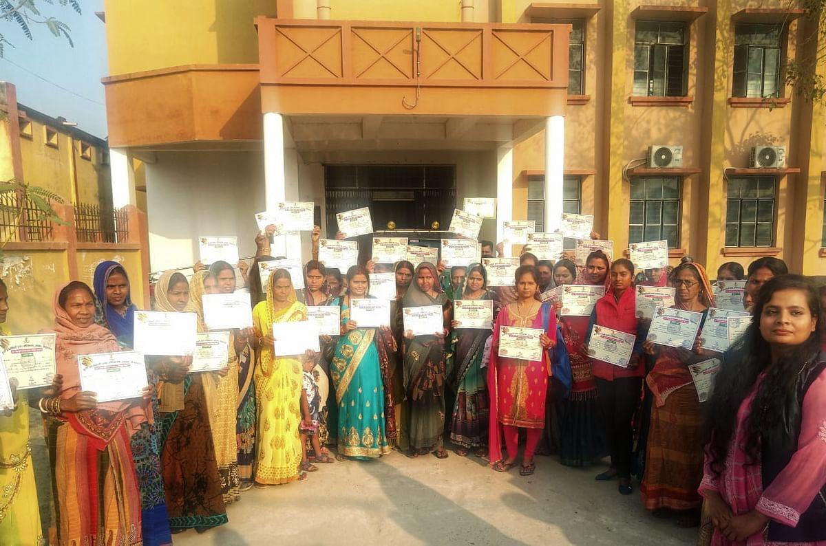 महिलाओं को आत्मनिर्भर बनाने के लिए आत्मा ने दिया तीन दिन का प्रशिक्षण