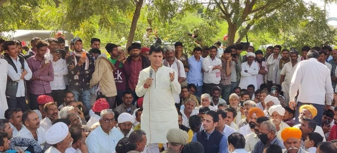 gehlot-government-defrauding-farmers-with-deceit-union-minister-of-state-for-agriculture