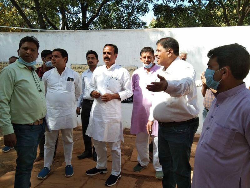 मंत्री यादव ने किया जिला जेल का निरीक्षण, कैदियों से चर्चा कर सुनी समस्याएं