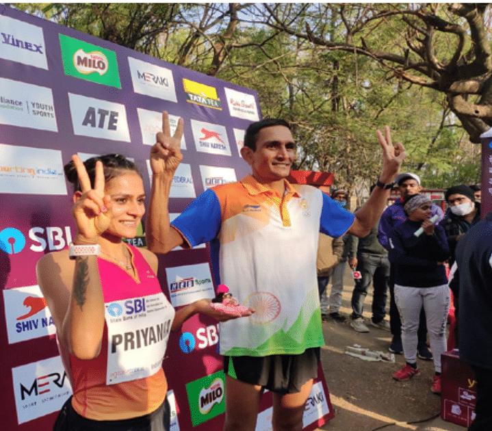 हरियाणा के संदीप कुमार और राहुल ने 20 किलोमीटर वॉक स्पर्धा में ओलंपिक क्वालीफाई किया