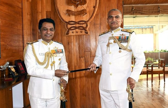 आर हरि कुमार बने पश्चिमी नौसेना कमान के कमांडर