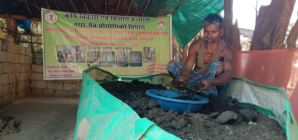 कोंडागांव : जैविक खेती करके मंगलूराम बने सफल किसान, औरों को भी सीखा रहें हैं आर्गेनिक फार्मिंग की विधि