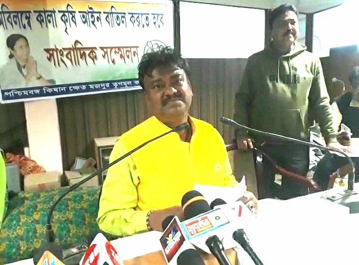 किसान आंदोलन बनेगा बंगाल चुनाव में मुद्दा : बेचाराम मन्ना