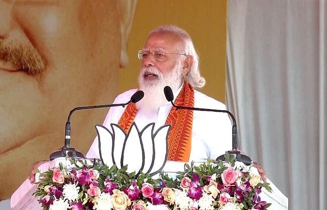 प्रधानमंत्री ने पुदुचेरी को दी विकास परियोजनाओं की सौगात