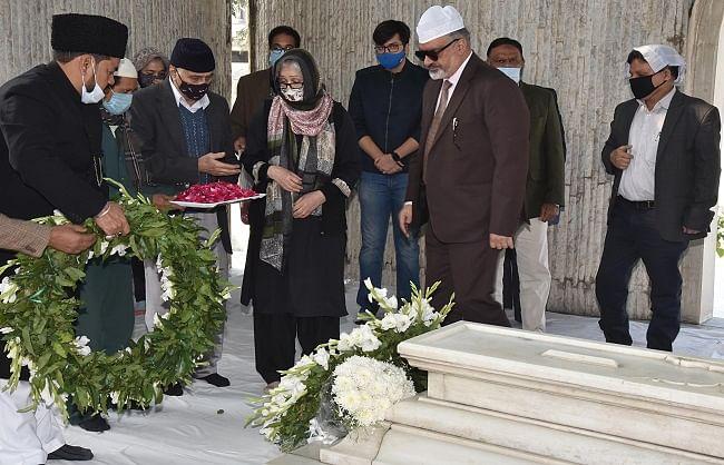 जामिया ने पूर्व राष्ट्रपति डॉक्टर जाकिर हुसैन की 124वीं जयंती मनाई