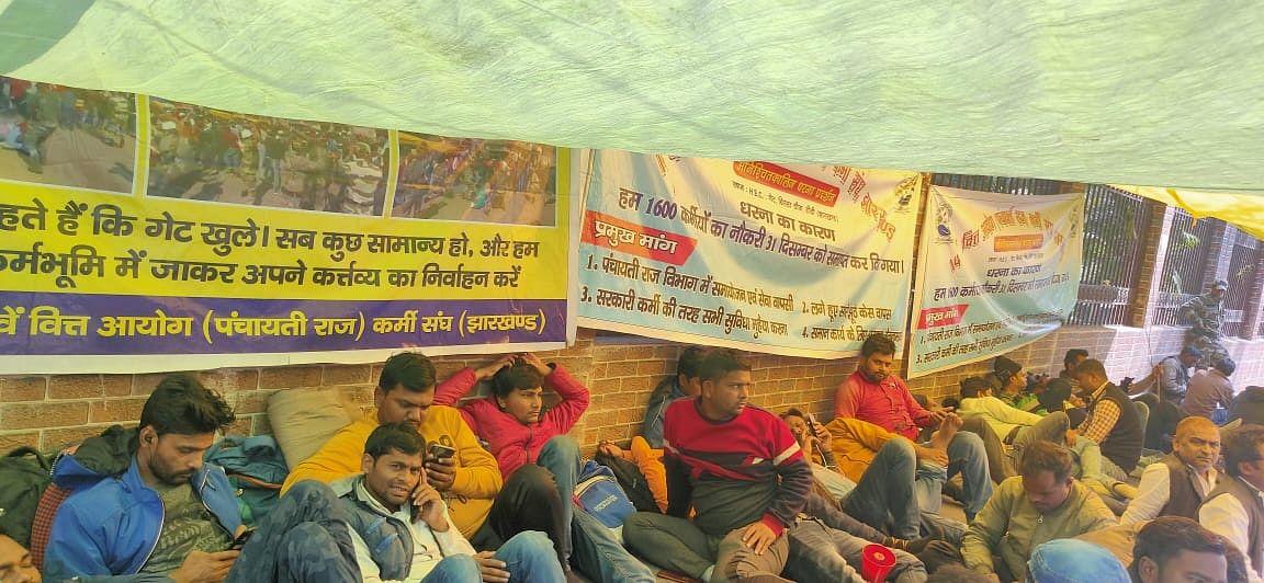 मांगे नहीं मानी गई तो आमरण अनशन और उग्र आंदोलन के लिए मजबूर होंगे: वित्त कर्मी