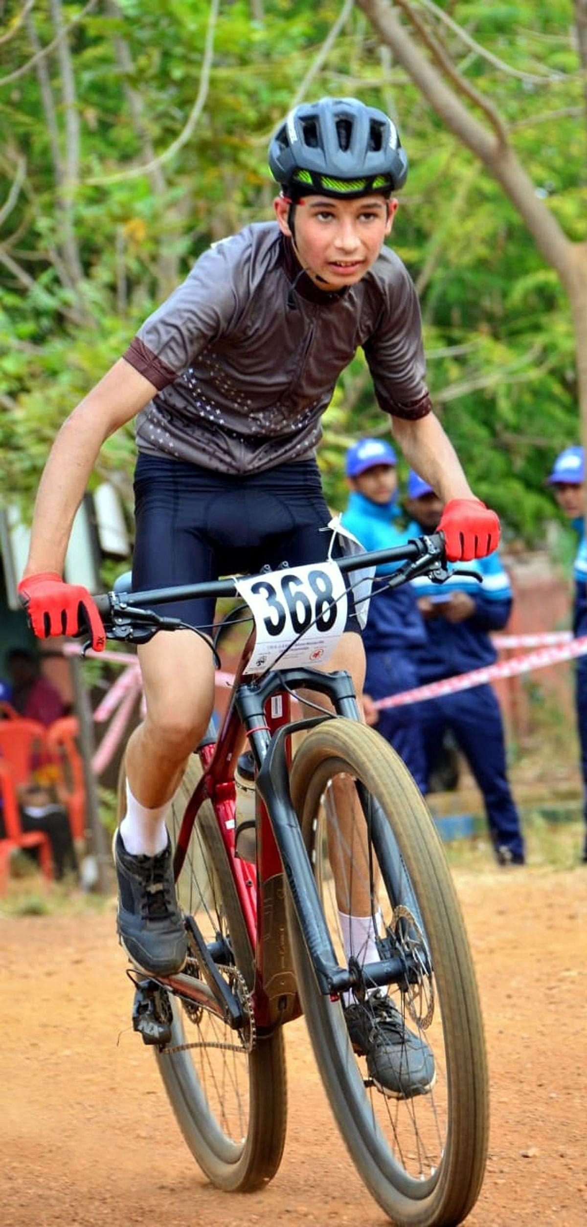 नैनीताल के नन्हे शिवांश ने कर्नाटक में साइकिलिंग में हासिल की बड़ी उपलब्धि
