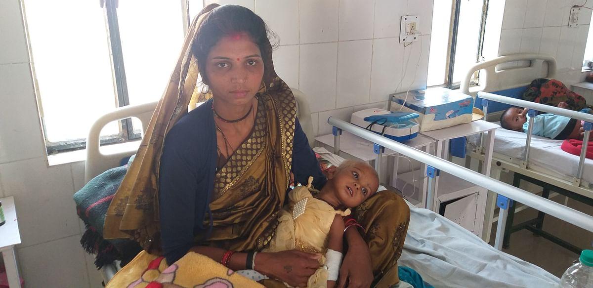 कुपोषण के घुन को अब धो रहा हमीरपुर में एनआरसी वार्ड