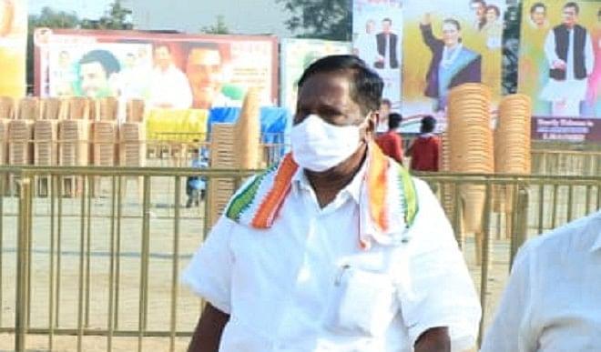कांग्रेस विधायक दल की बैठक रही बेनतीजा, वी नारायणसामी का विपक्ष के पास 11 विधायक होने का दावा