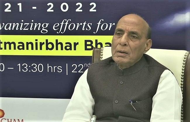 रक्षा मंत्री का नया मंत्र- 'मेक इन इंडिया, मेक फॉर द वर्ल्ड'