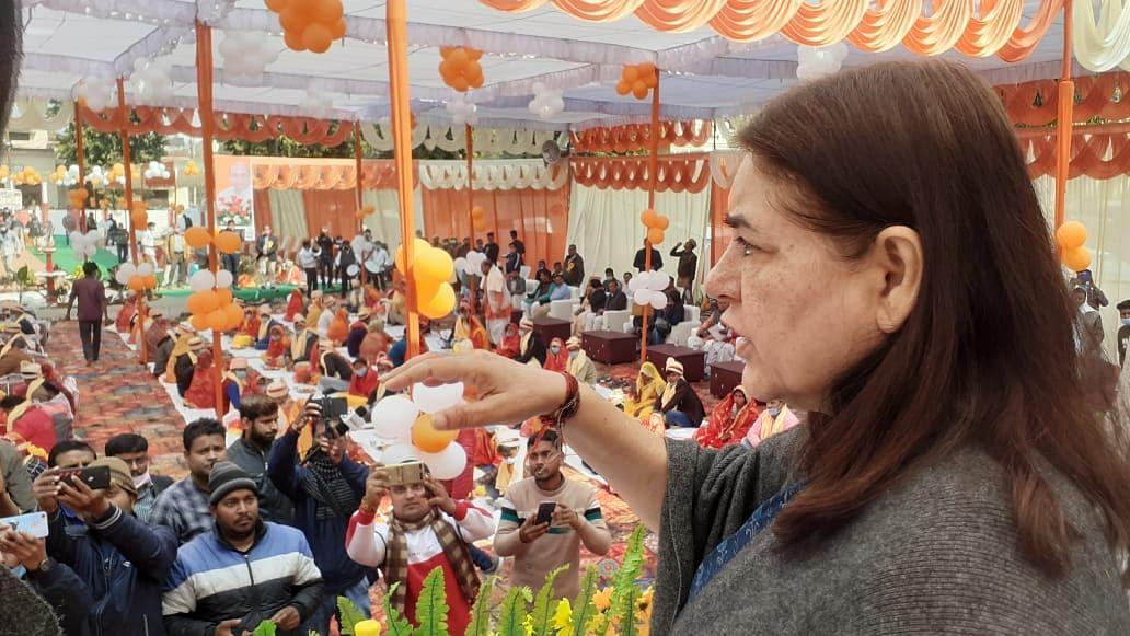 केंद्रीय बजट की सांसद मेनका  गांधी व  स्वास्थ्य मंत्री जय प्रताप सिंह ने की सराहना