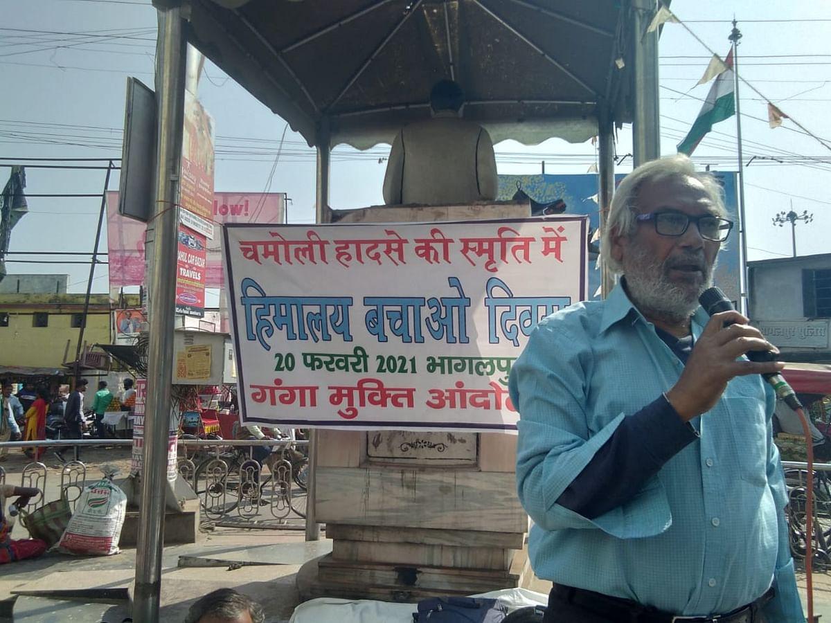 वाहनों व उद्योगों के कारण बढते प्रदूषण से तेजी से पिघल रहे हिमालय के ग्लेशियर:  रामशरण