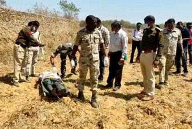 जगदलपुर : फांसी के फंदे पर लटका मिला अज्ञात युवक का शव